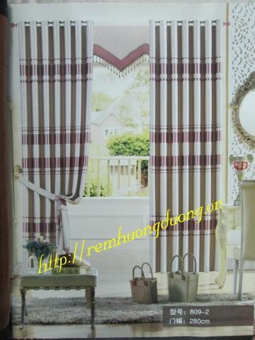 rèm vải phòng khách 4