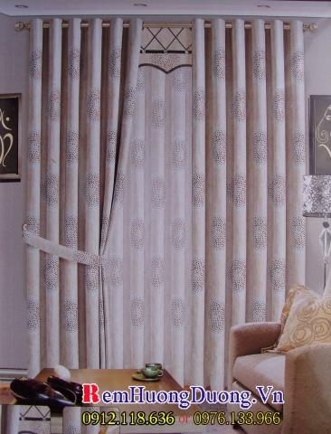 rèm vải phòng khách 6