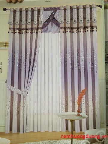 Rèm vải phòng khách 15