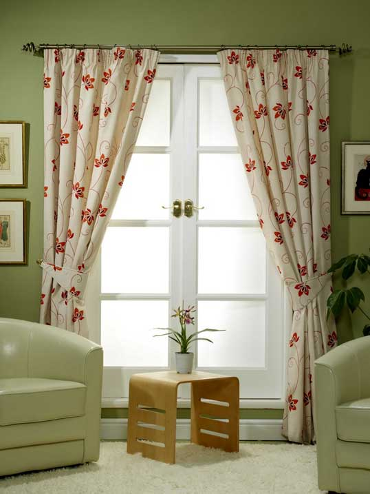 Rèm vải phòng khách 26