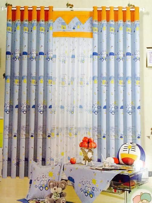 Rèm vải phòng trẻ em 19