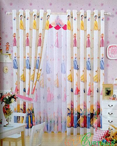 Rèm vải phòng trẻ em 21