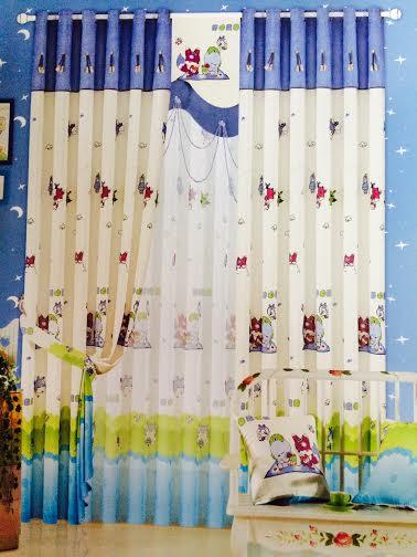 Rèm vải phòng trẻ em 23