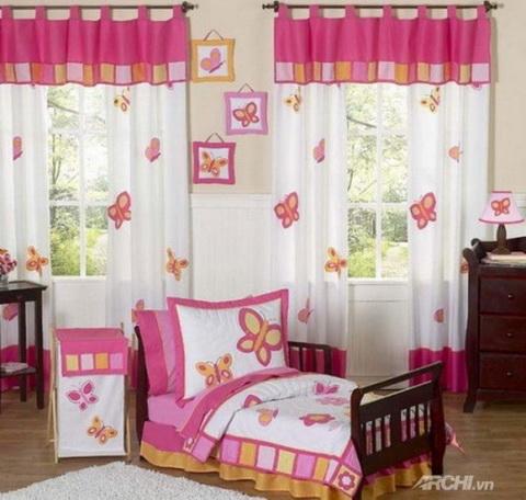 Rèm vải phòng trẻ em 27