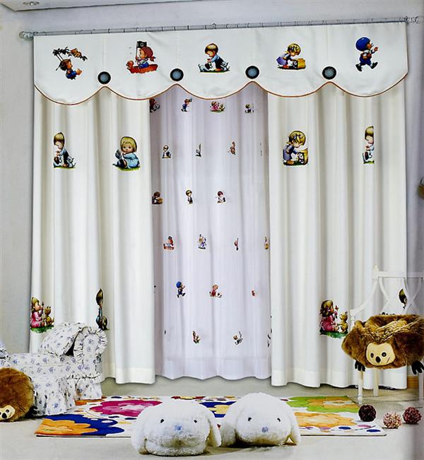Rèm vải phòng trẻ em 28