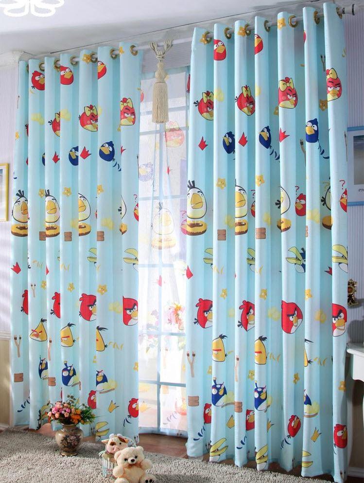 Rèm vải phòng trẻ em 35
