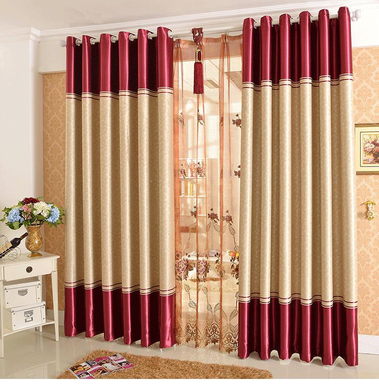 Rèm vải 2 lớp sẽ amng lại sự sang trọng cho phòng khách