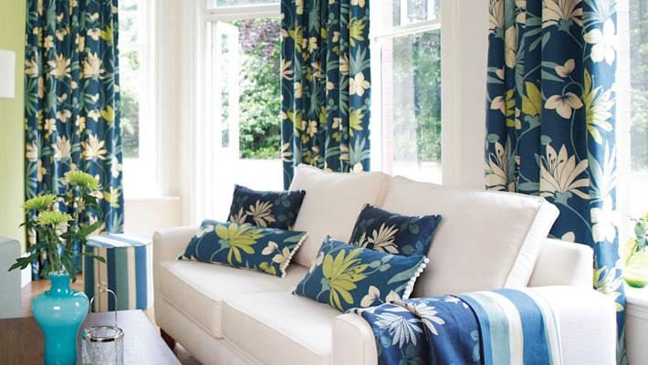 Chọn mẫu rèm vải phù hợp với nội thất là điều không dễ dàng