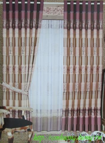 Rèm Vải phòng khách 2