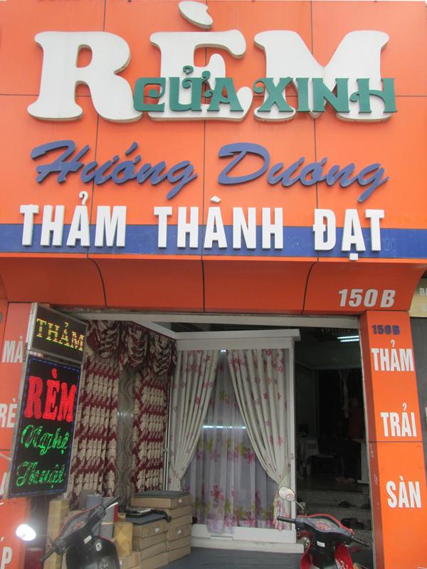 Cửa hàng rèm hướng dương - 150b trần duy hưng - TP HN