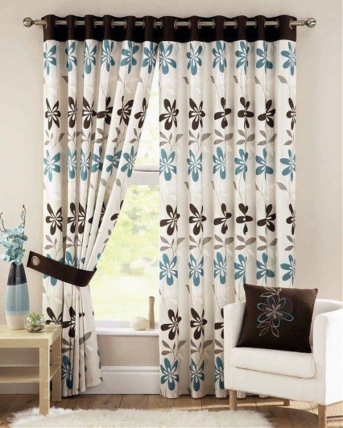 Rèm cửa phù hợp với màu tường