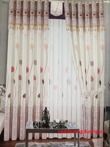 rèm vải phòng ngủ 18
