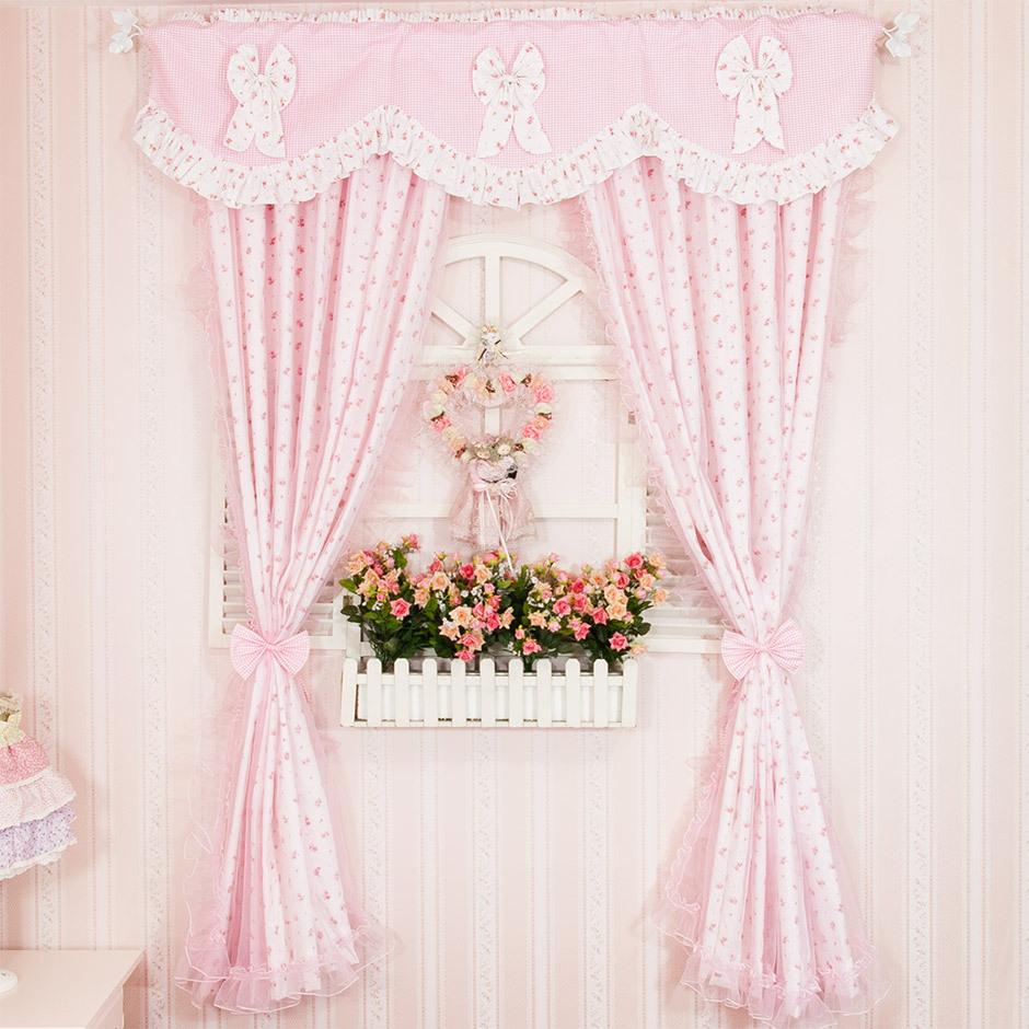 Cách trang trí rèm cửa cho phòng bé gái cực xinh tươi