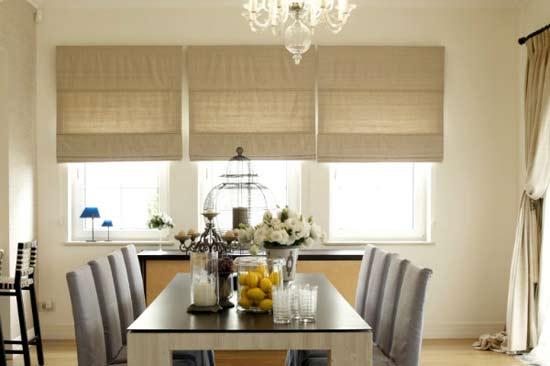 Chiêm ngưỡng 3 phong cách trang trí rèm cửa cho không gian phòng ăn