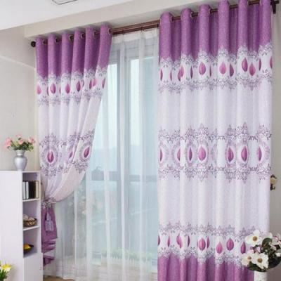 Không gian phòng tân hôn ấn tượng và lộng lẫy với gam màu tím