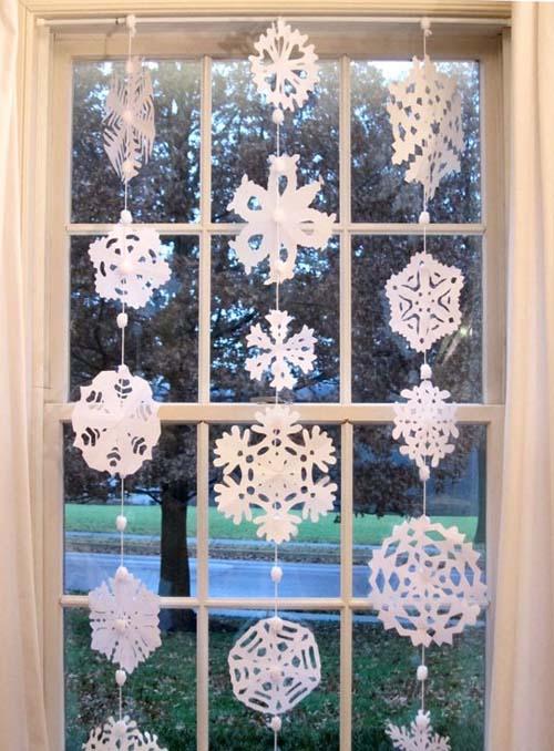 Hướng dẫn trang trí rèm cửa đón giáng sinh