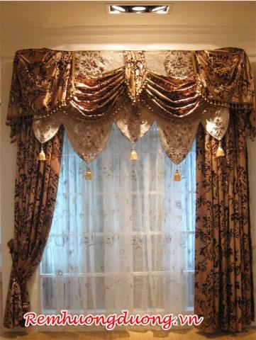 Rèm cửa cổ điển tại Ba Đình