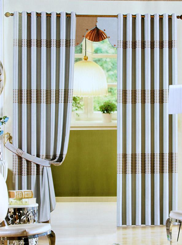 Rèm vải phòng khách tại Ba Đình